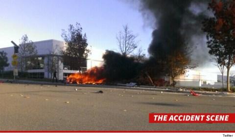 Paul Walker Dead - Accident Scene