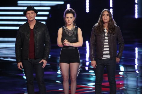 Who was voted out on the voice last night