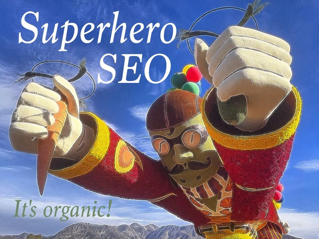 Organic SEO Superhero