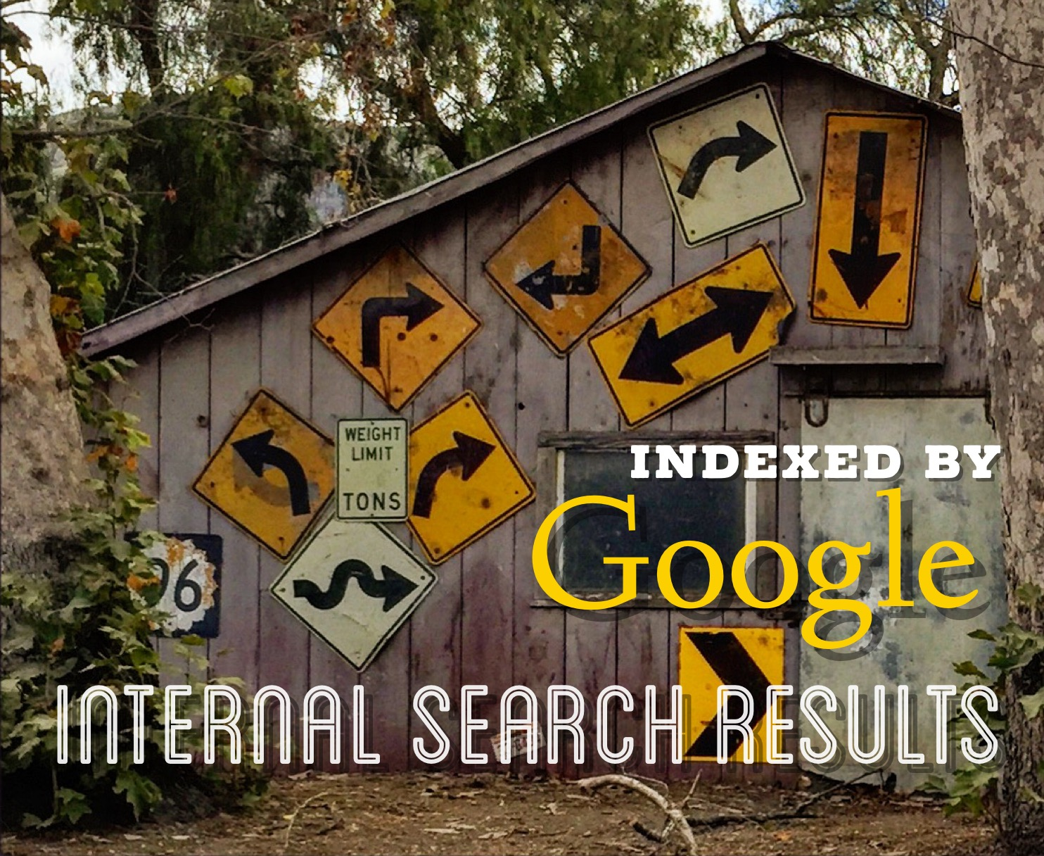 Internal Search Results Indexed Google