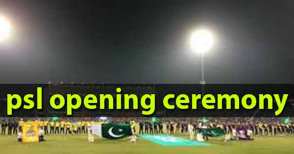 HBL PSL 5 Opening Ceremony HD