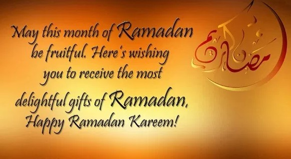 Ramadan Kareem Wishes in English