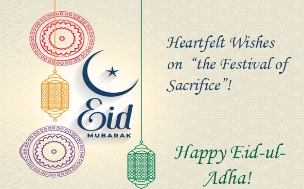 Best Eid ul Adha Mubarak Wishes, Quotes, Images - Bakra Eid