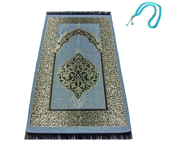 Prayer Rug and Tasbeeh for Everyone (Family, Friends, Teachers)
