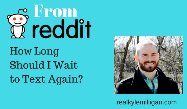 How long should i wait to reply online hookup