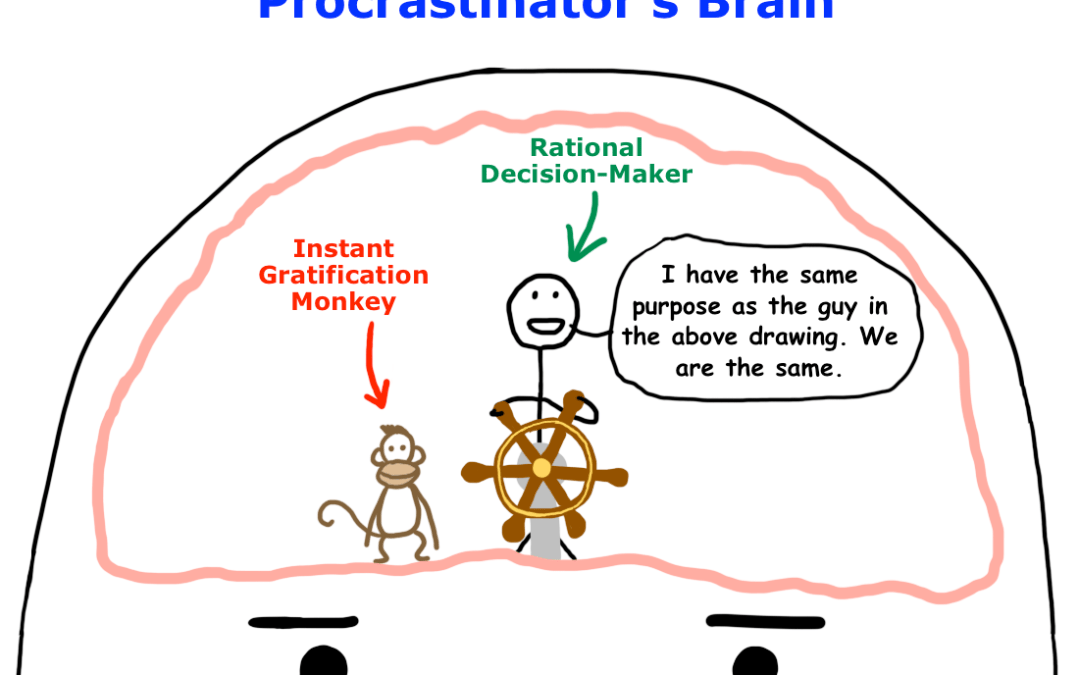 Procrastination and Preferences