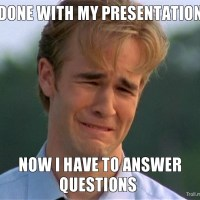 7 ways to not answer a question when you are Presenting.