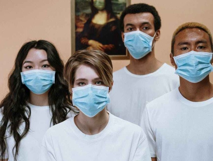people wearing face mask for protection