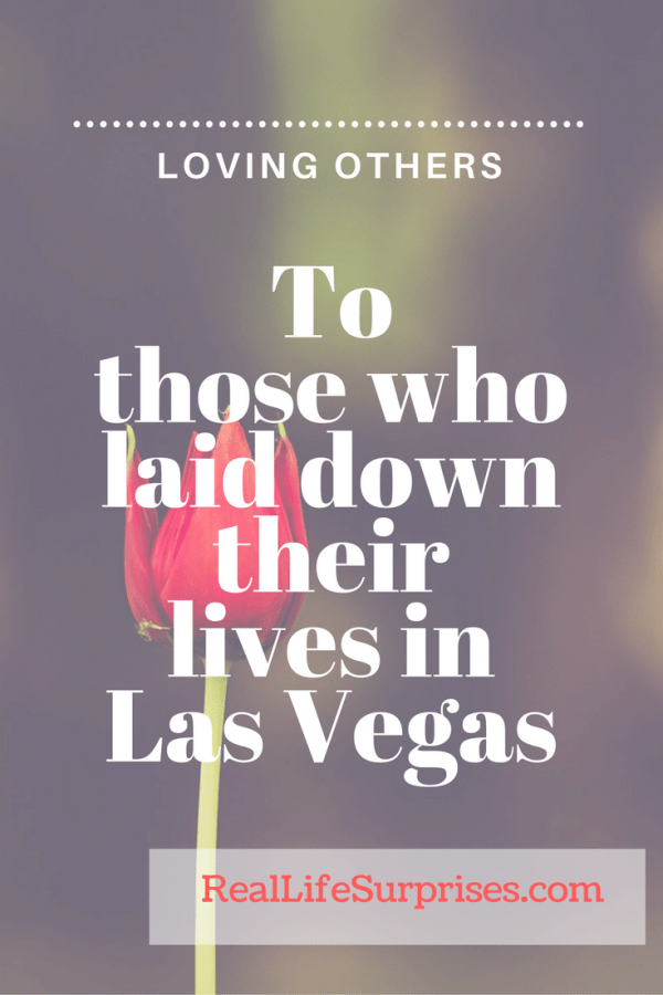 Love Worth Following and Remembering: A Reflection on the Mass Shooting in Las Vegas
