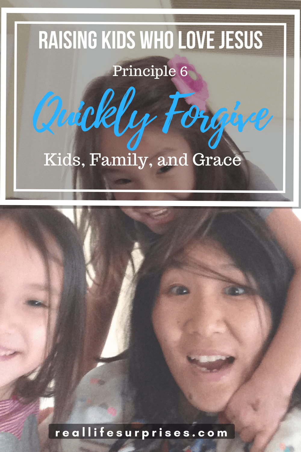 Quickly forgive Kid, Family, and Grace