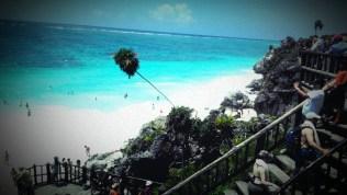 Mayan ruins beach Tulum, Mexico