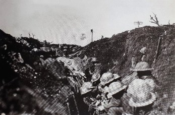 Canadian Line, Somme Trenches, October 1916