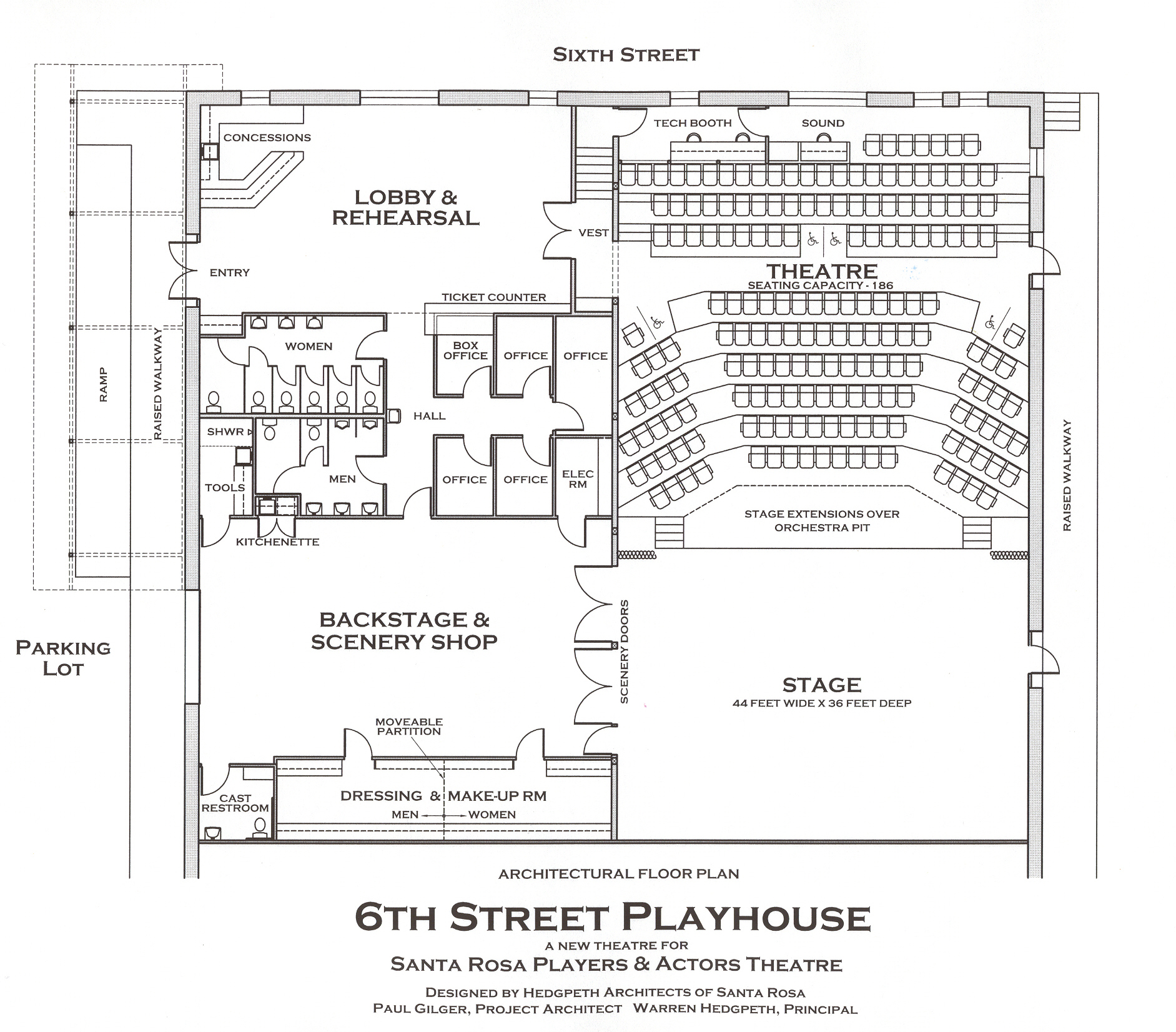 Woodwork Playhouse Seating Plan Melbourne Plans