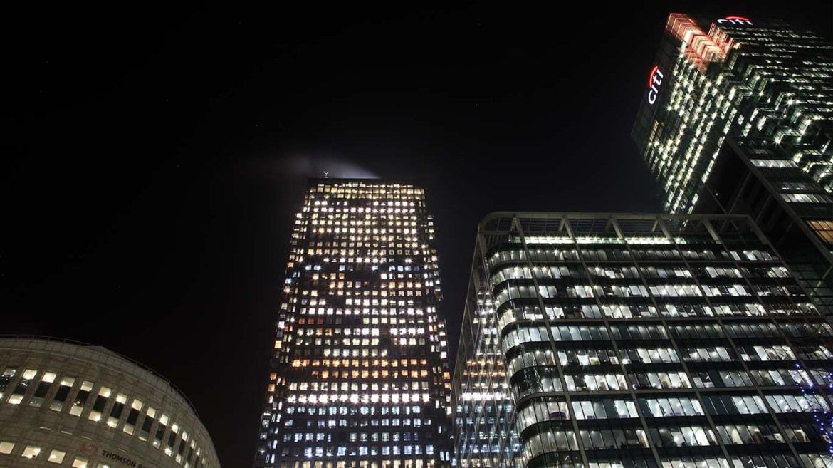 Canary Wharf Station Buildings