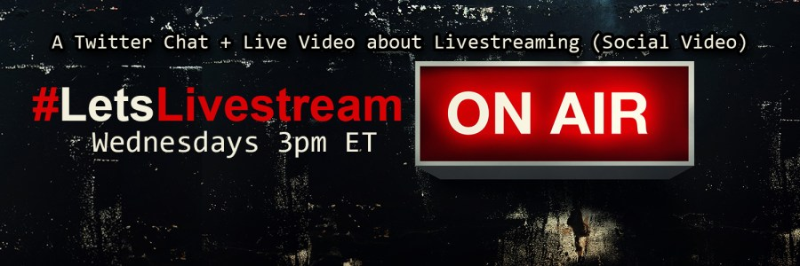 #LetsLivestream is the only weekly discussion, hosted via Twitter chat AND livestream video on Periscope and Facebook, which dives into the world of livestreaming. Provided by Really Social. Hosted by Rachel Moore. Moderated and Produced by Jenn Nelson.