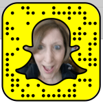 Snapcode for Sandra Centorino: sayitforward | Really Social Blog