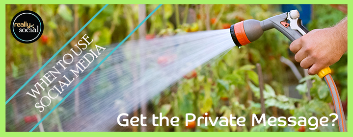 Blog Header Image - Private Messages in Social Media | Really Social