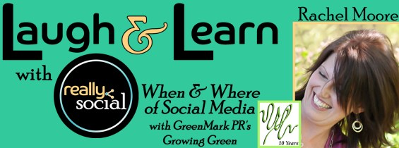 When & Where of Social Media with guest Gina Iliopoulos | GreenMark PR