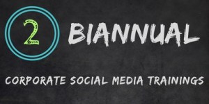 Really Social Corporate Social Media Training | Biannual
