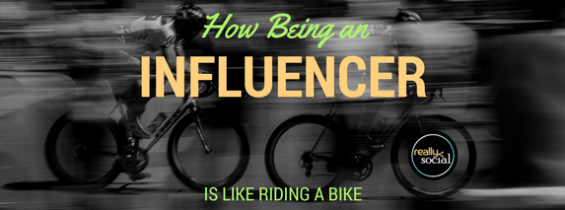 How Being an Influencer is Like Riding a Bike
