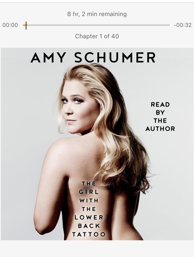 The Girl with the Lower Back Tattoo by Amy Schumer Book Review