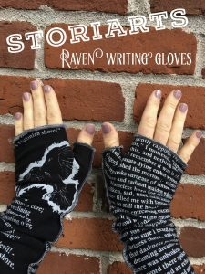 Storiarts Raven Writing Gloves Really Into This