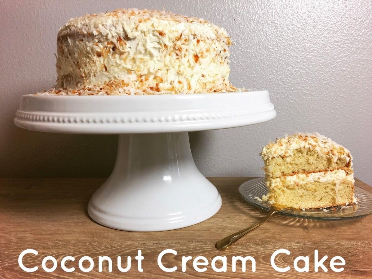 Grandma Luella's Coconut Cake Recipe