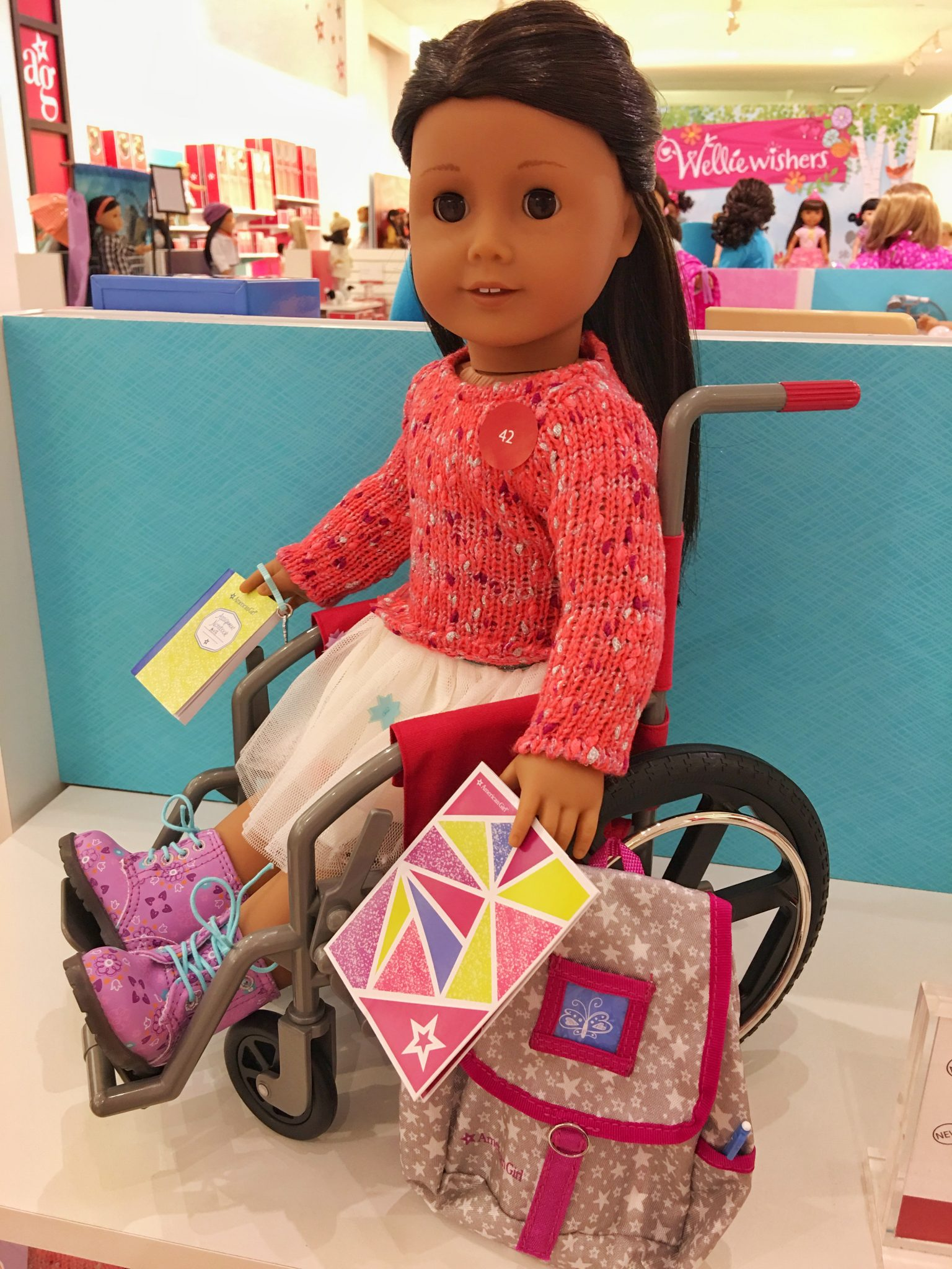 American Girl Wheelchair Washington Square Mall