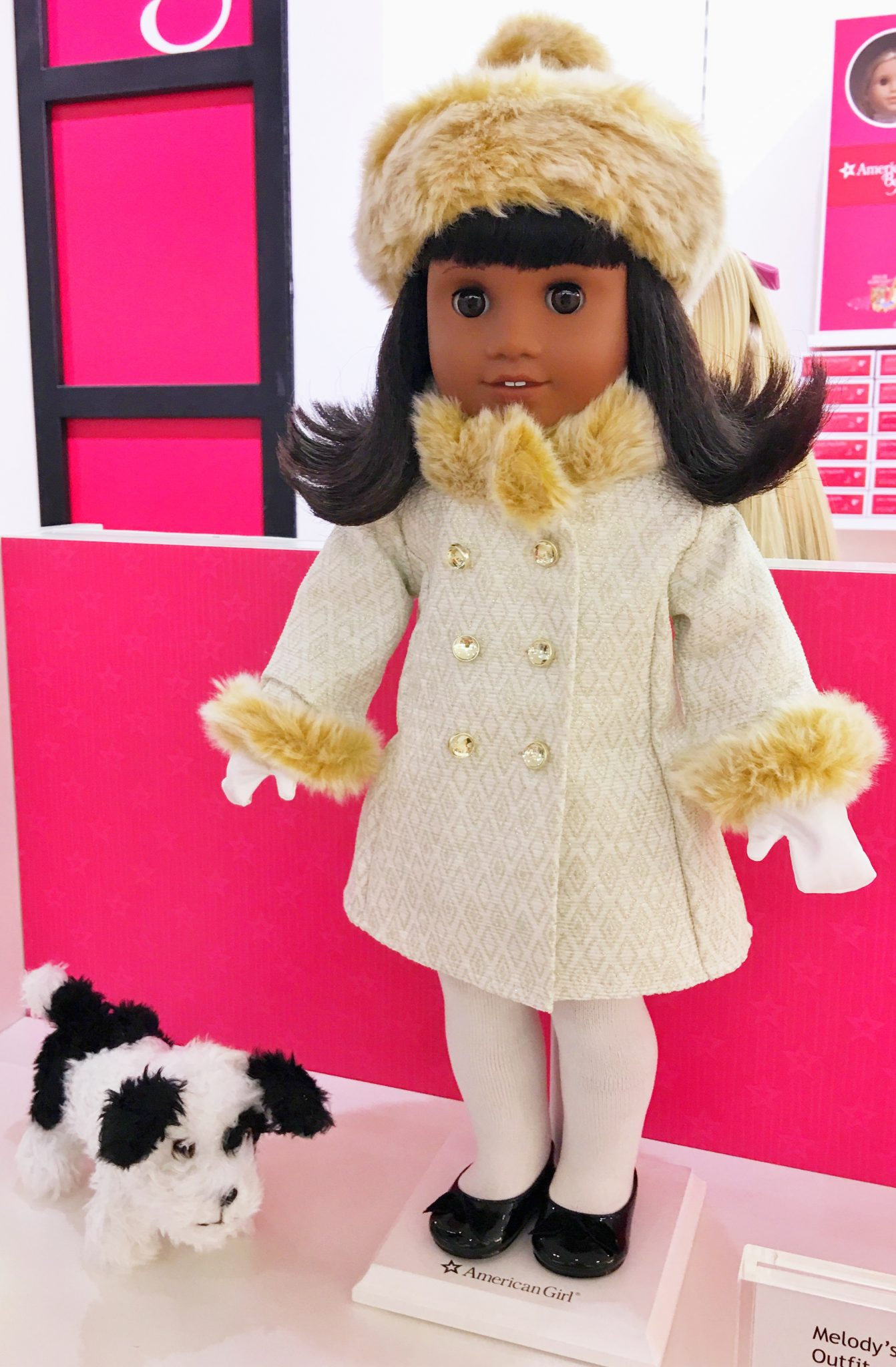 Melody Fancy Coat Outfit American Girl at Washington Square Mall