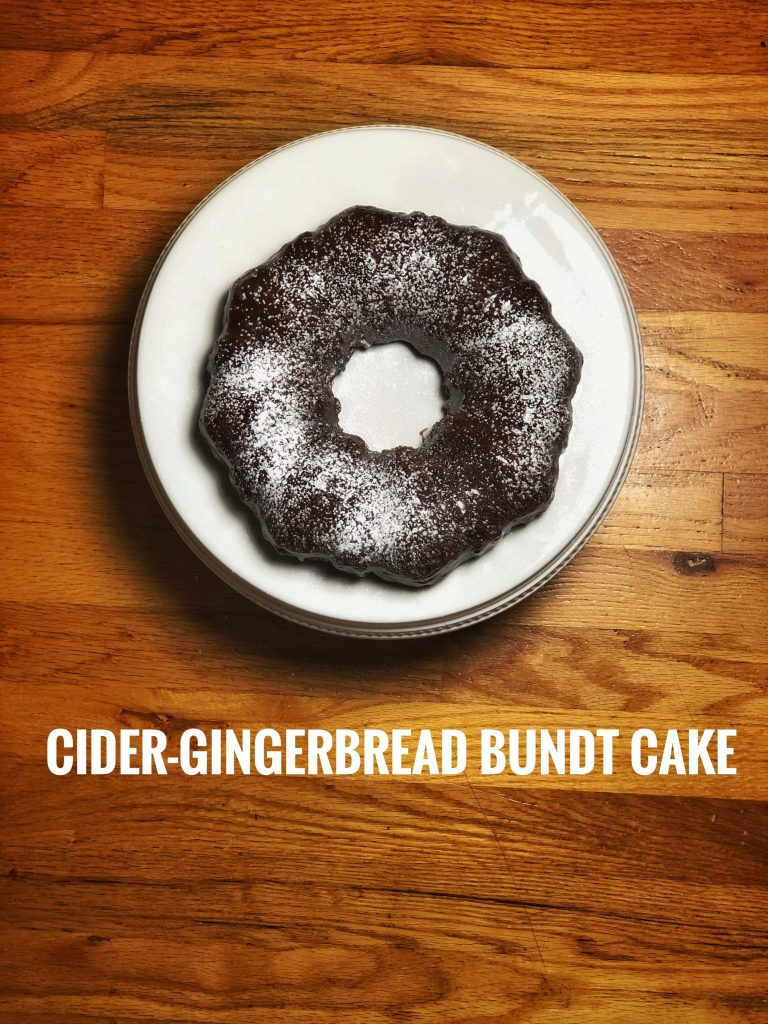 Cider Gingerbread Bundt Cake Really Into This Blog Recipe