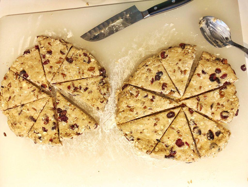 King Arthur Flour's Christmas Scones Recipe Dough Mix Really Into This Blog