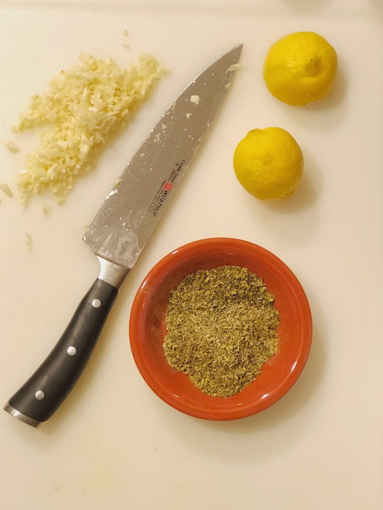 Lemon Chicken Breasts Recipe Ingredients
