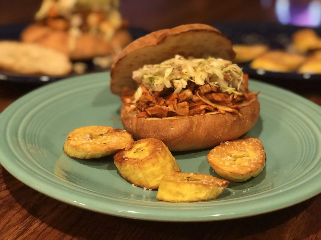 Purple Carrot Plant-Based Meal Delivery Review Really Into This Peruvian Jackfruit Torta