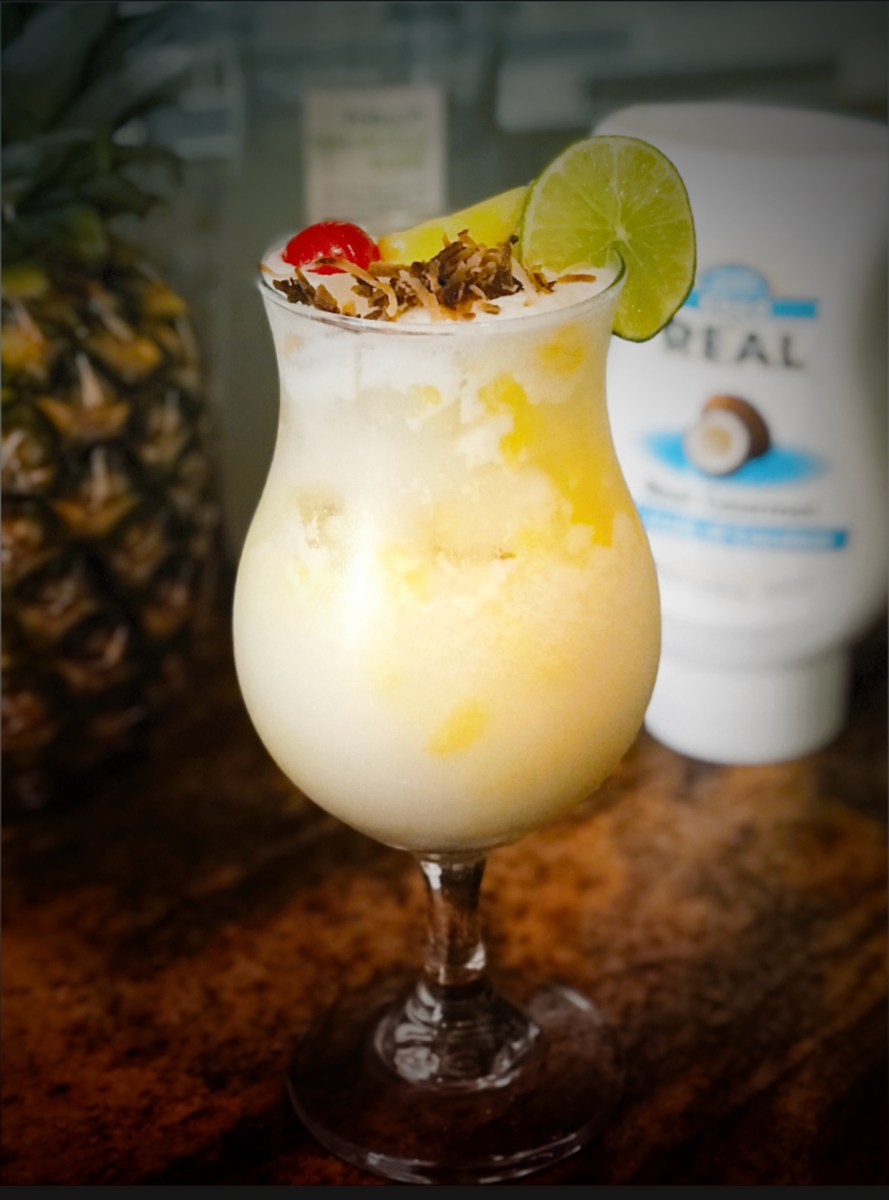 Pina Colada On The Rocks Recipe