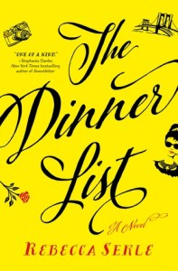 The Dinner List by Rebecca Serle Book Review Really Into This