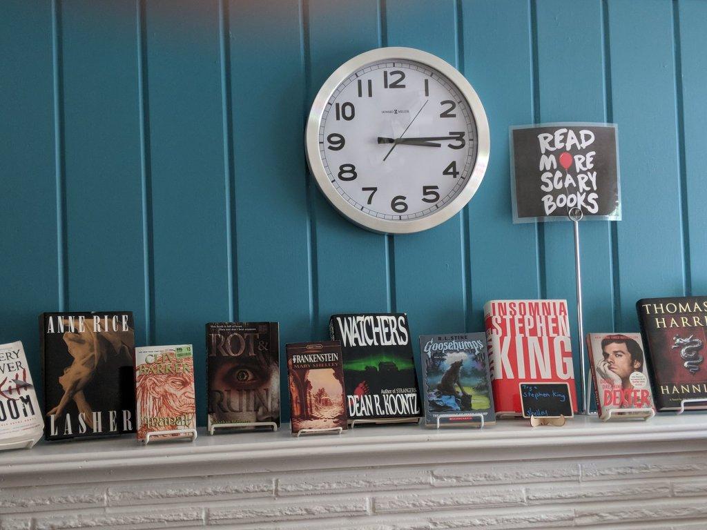Beaverton Book Corner Really Into This Blog Spooky Mantle Facebook