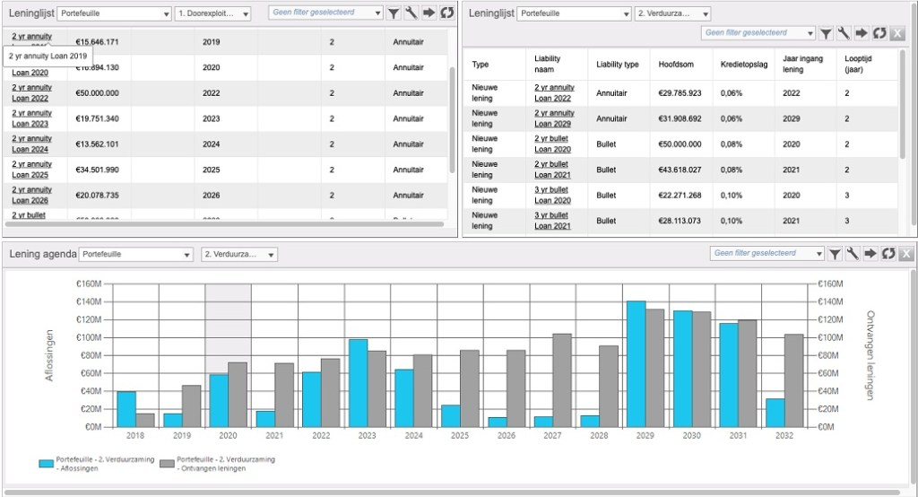 Voorbeeld REALMAP voor financieel managers