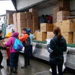 Distribution of Relief Items