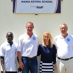 CEO and Founder Dr. Martina Fuchs and World Children's Fund Representatives