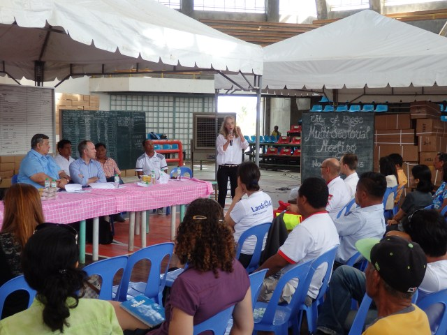 Town Hall Meeting with the Mayor of Bogo City and Dr. Minerva Millor
