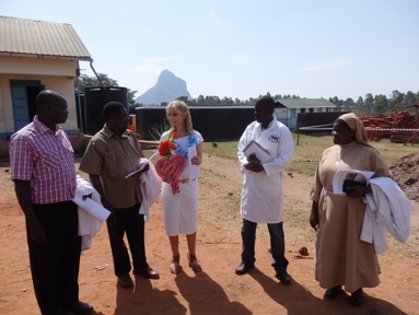 Dr. Martina Fuchs visits WCF Mama Kevina School in February and March 2014