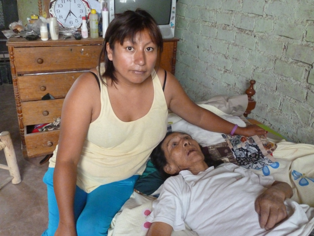 mother patient treated at Peru clinic