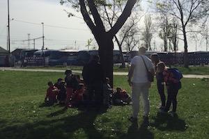 children being treated