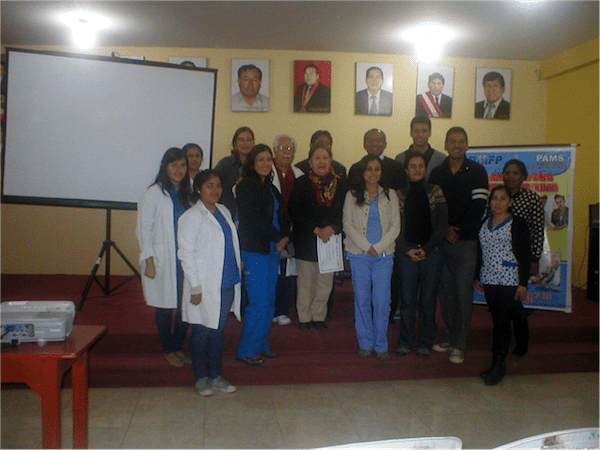 the RMF Peru team