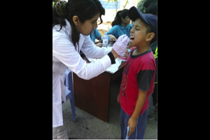 Dental Health Peru Boy