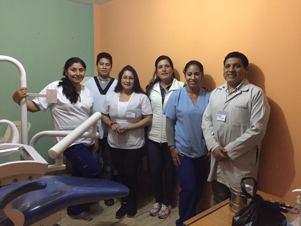 Dentistry volunteers from the PAMS-RMFP Medical Mission