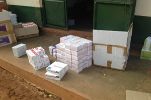 delivery of medical supplies