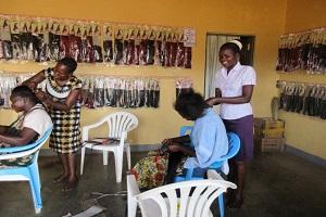 hair dressing school in uganda