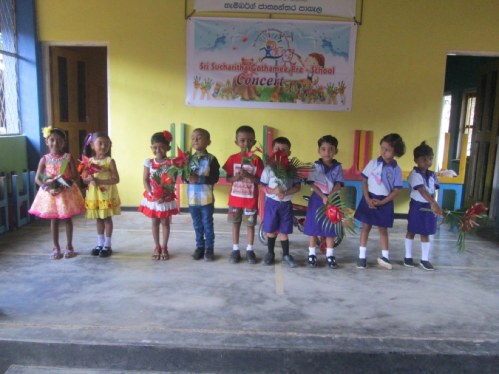 The new children were warmly welcomed to the school.