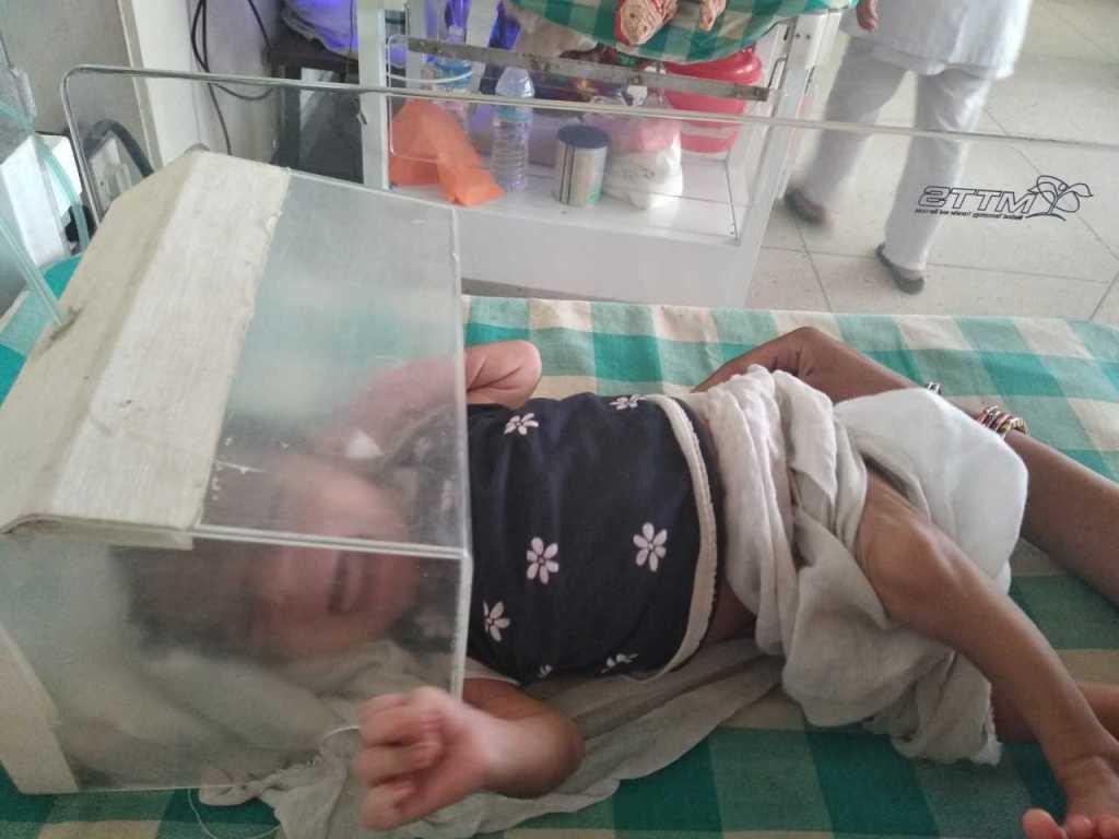 AS Nepal KCH Q2 2018 8-day-old boy at NICU